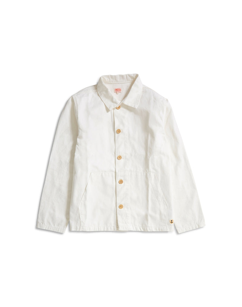 Armor Lux - Long Sleeve Heritage Shirt White