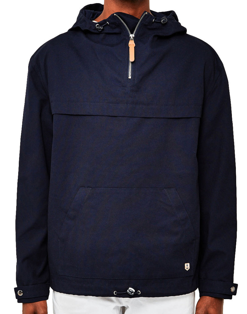 Armor Lux - Hooded Fishermans Smock Jacket Navy