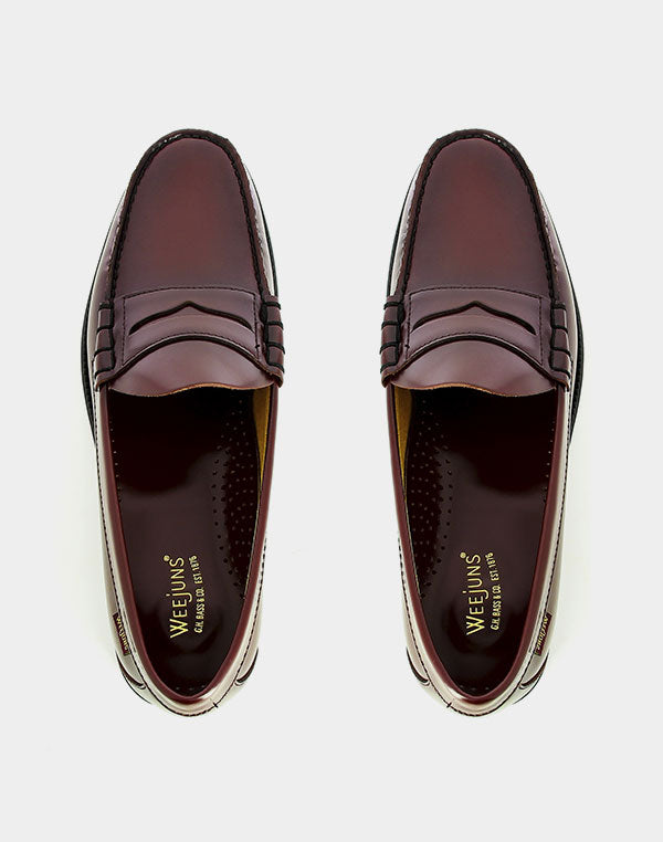 G.H.Bass & Co. - Weejun II Larson Penny Loafers Wine