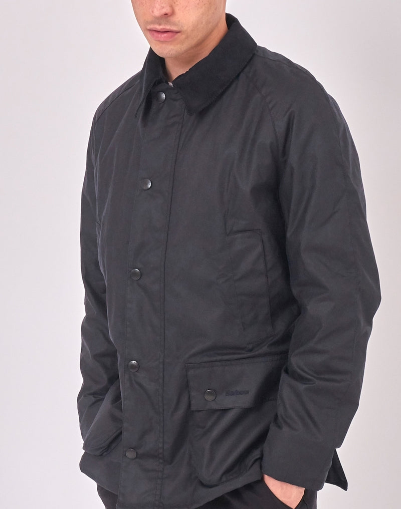 Barbour - Ashby Waxed Field Jacket Navy