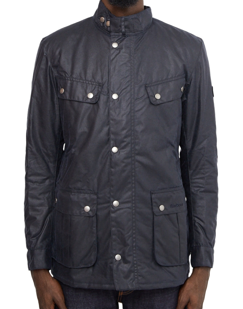 Barbour - International Duke Wax Jacket Navy