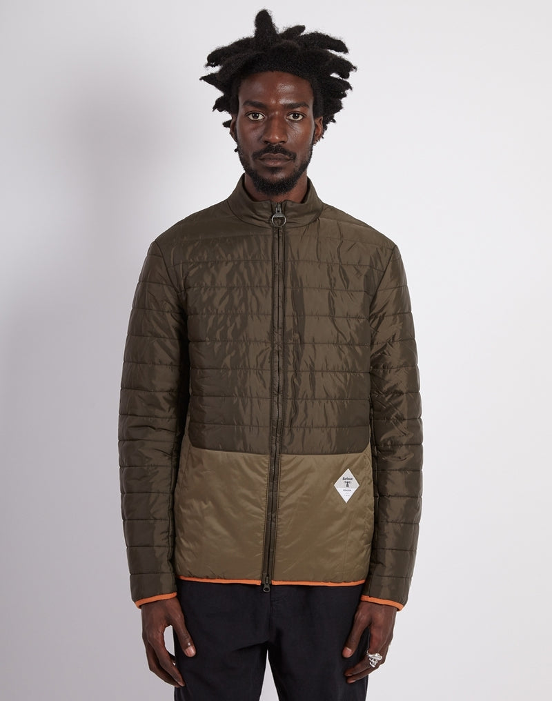 Barbour - Beacon Glenridding Quilted Jacket Olive
