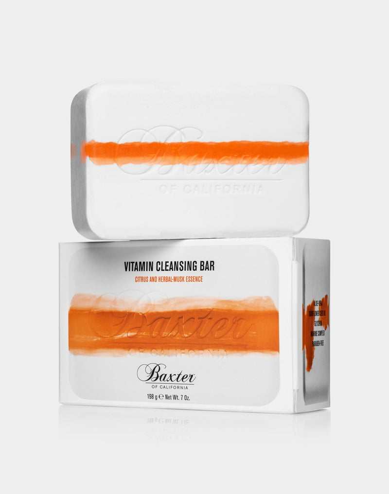 Baxter of California - Vitamin Cleansing Bar Citrus & Herbal 198g