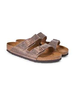 Birkenstock - Classic Arizona Sandal Brown Leather
