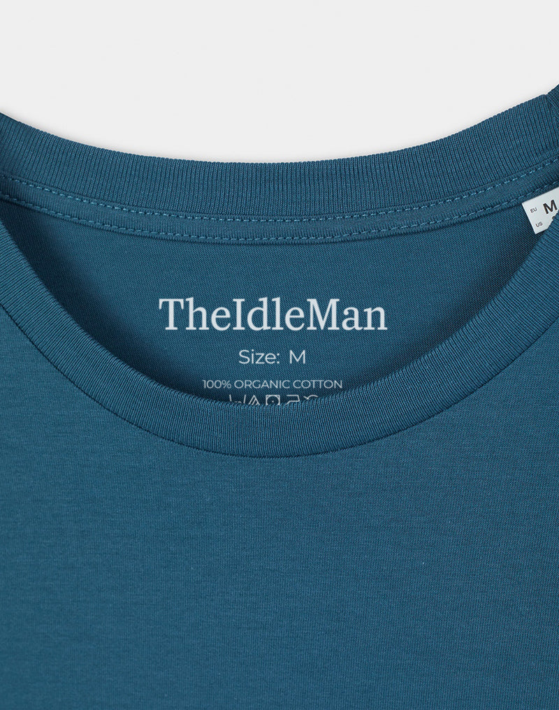 The Idle Man - Organic Cotton Long Sleeve T-Shirt Stargazer