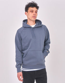Carhartt WIP - Hooded Chase Sweatshirt Blue