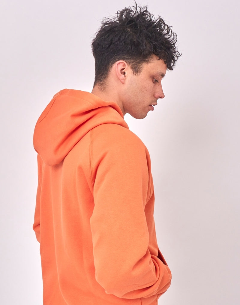 Carhartt WIP - Hooded Chase Sweatshirt Orange