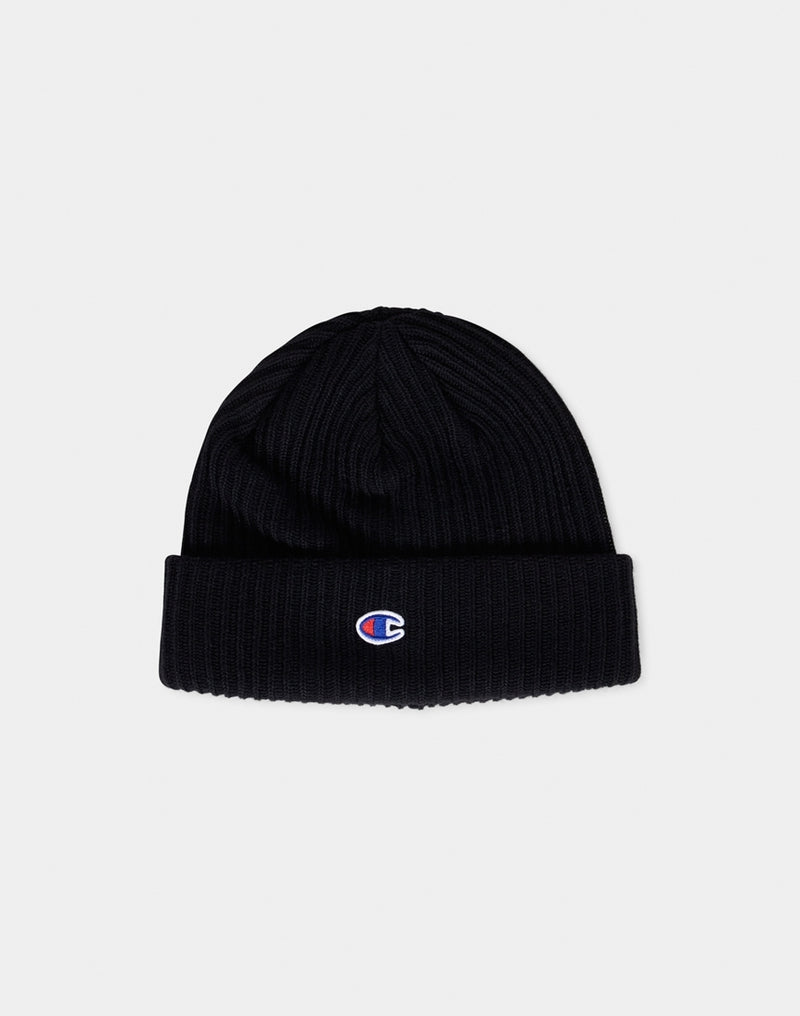 Champion - Beanie Cap Black