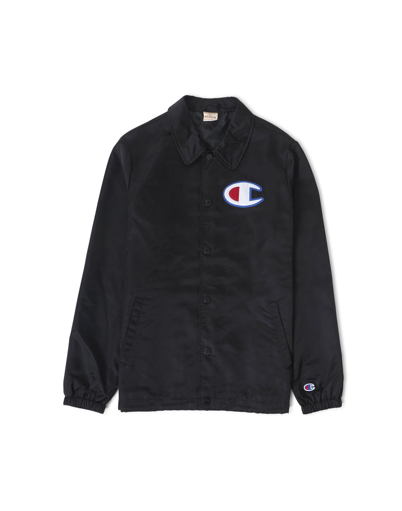Champion - Coach Jacket Black