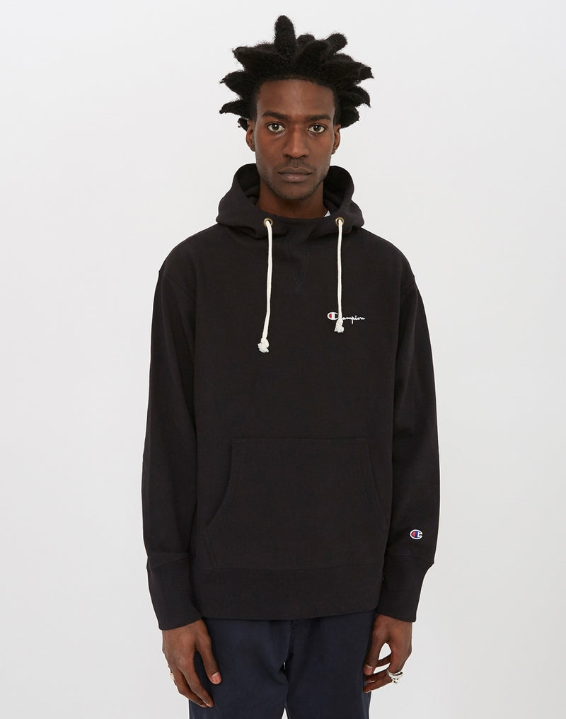 Champion - Deconstruction Hooded Sweatshirt Black