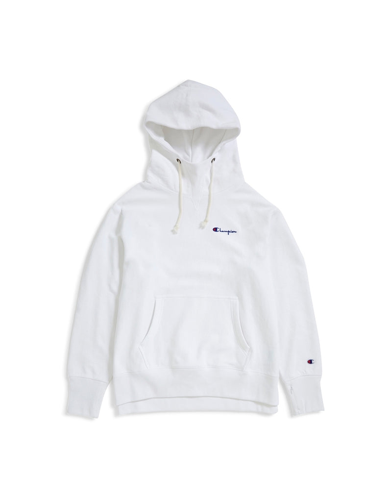 Champion - Deconstruction Hooded Sweatshirt White