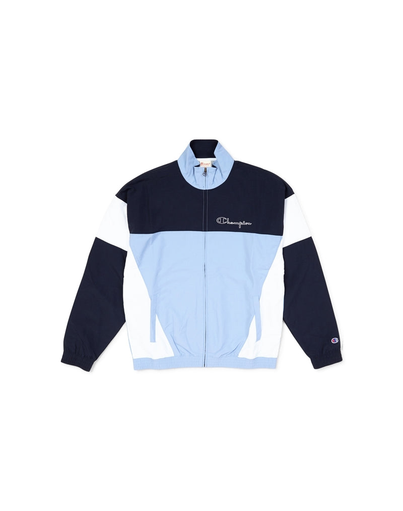 Champion - Full Zip Top Sky Blue & Navy