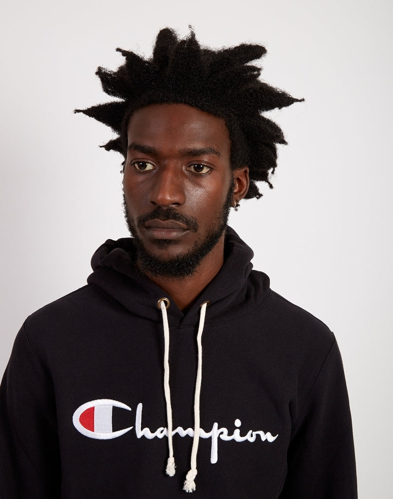 Champion - Champion Hooded Sweatshirt Black