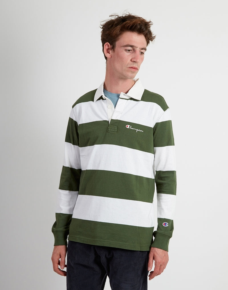 Champion - Long Sleeve Polo T-Shirt
