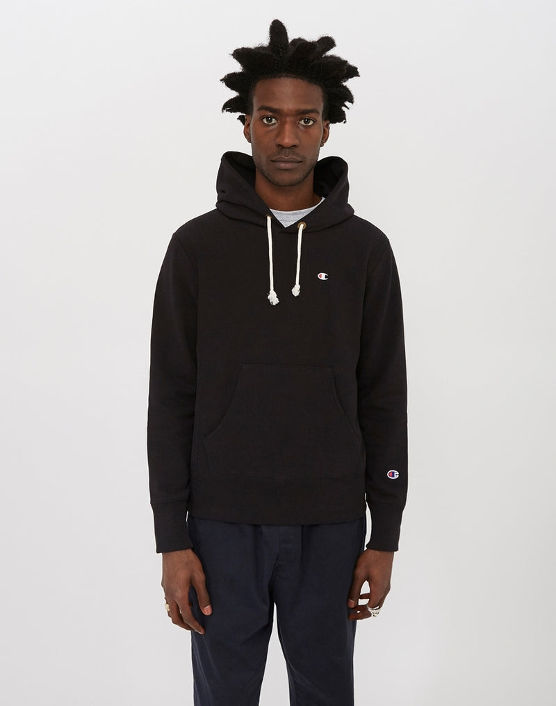 Champion - Classic Reverse Weave Hoodie Black