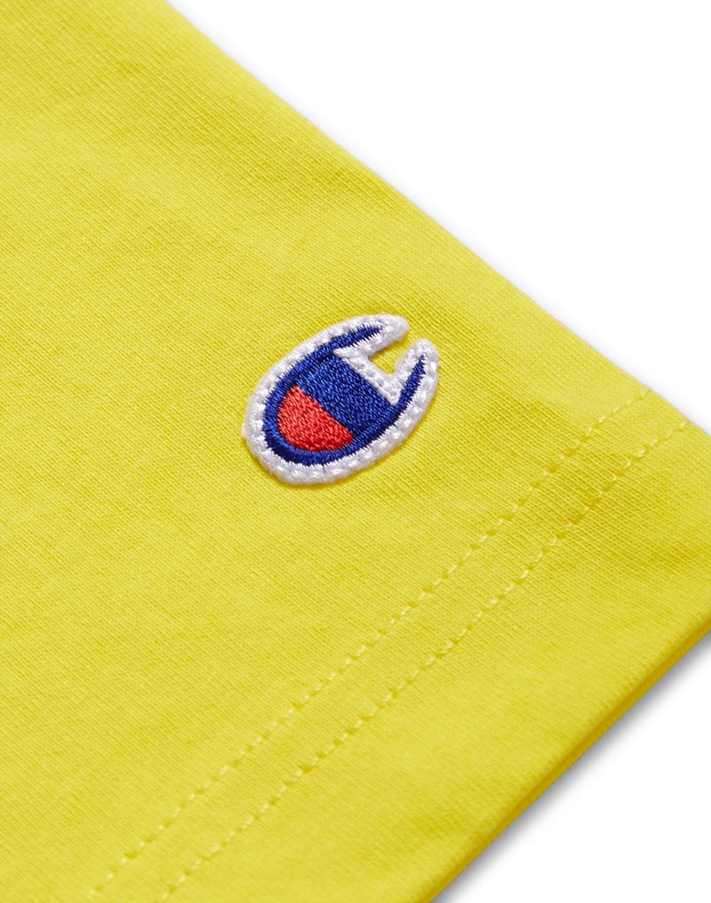 Champion - Short Sleeve T-Shirt Yellow