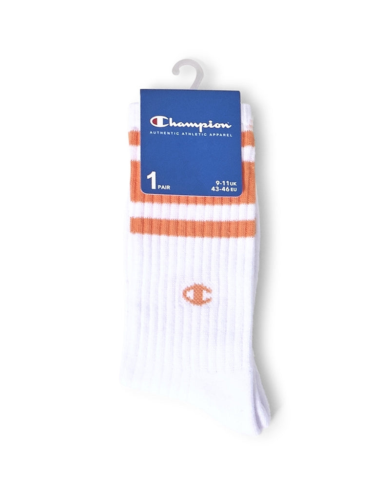 Champion - Socks White and Orange