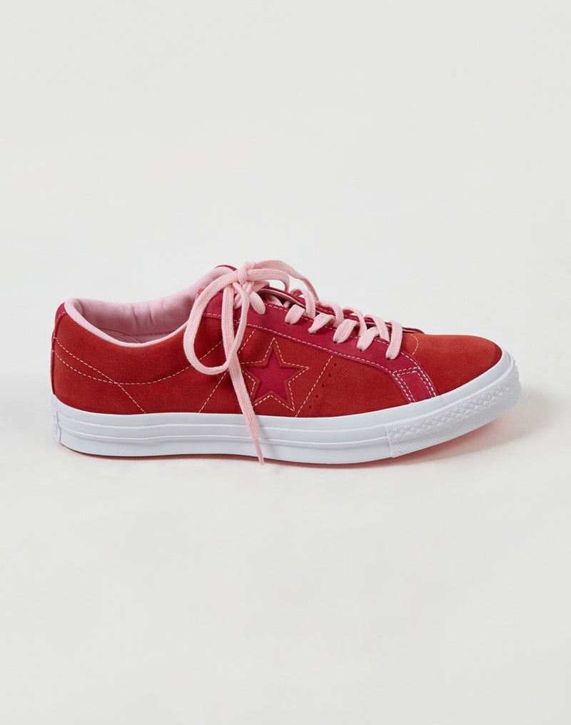 Converse - One Star Ox Low Red & Pink