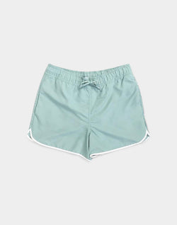 The Idle Man - Swim Shorts Green