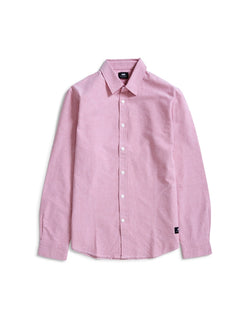 Edwin - Cadet Cotton Oxford Shirt Red