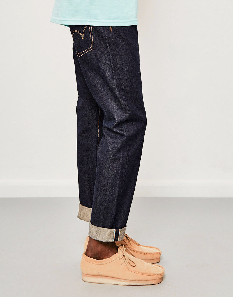 Edwin - ED-55 Regular Tapered 63 Rainbow Selvedge Jeans Unwashed