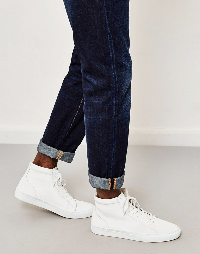 Edwin - ED-55, Relaxed Tapered, Deep Blue Jeans, Coal Washed