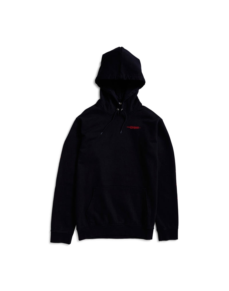 Edwin - Hold All Swords Heavy Unbrushed Flepa 350gr. Hoodie Sweat Black