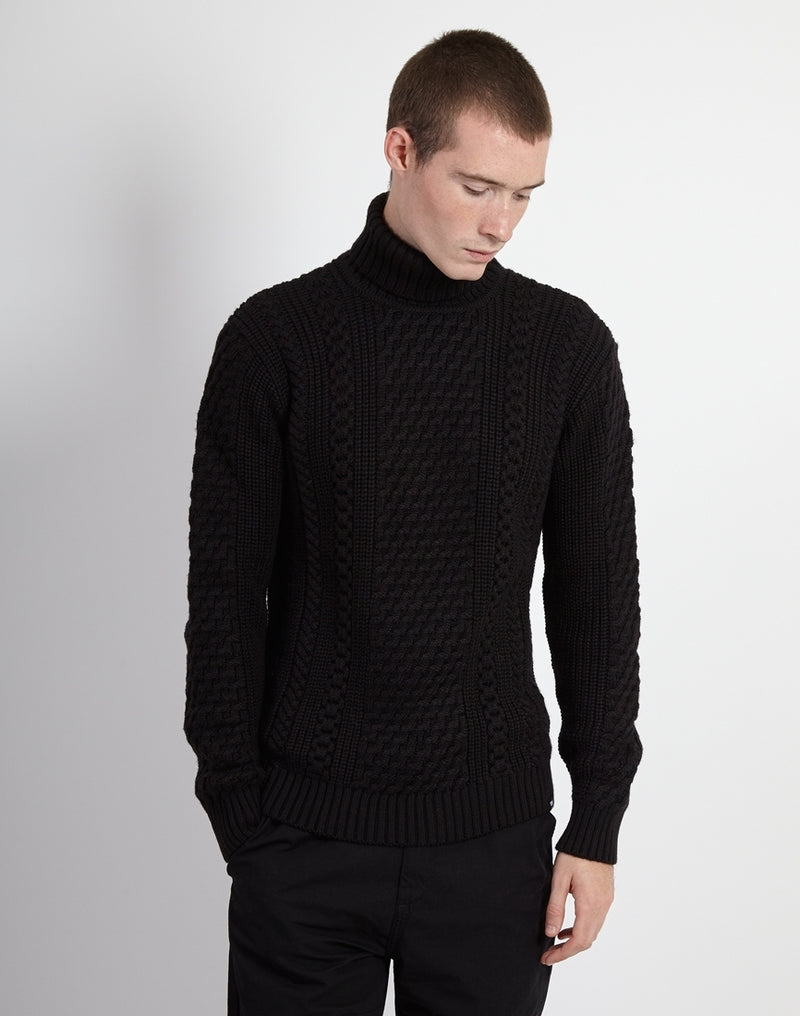 Edwin - United Rollneck Sweater Black