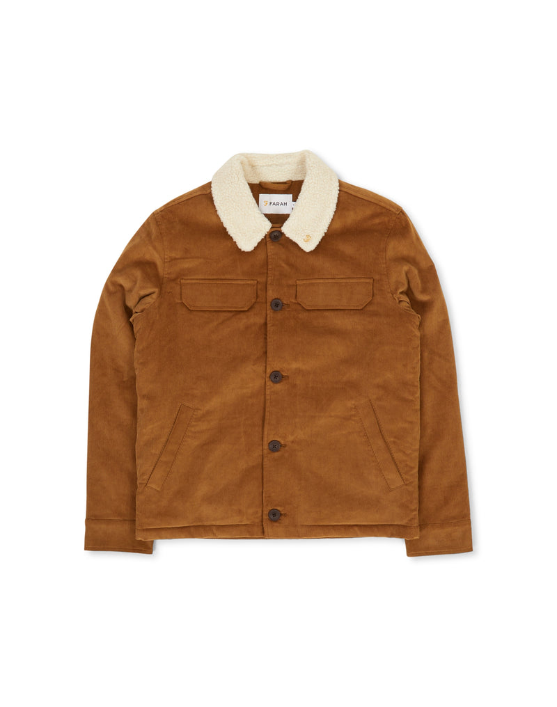 Farah - Borg Collar Jacket