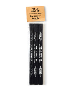 Field Notes - Carpenter Pencil 3-Pack