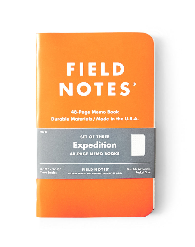 Field Notes - Expedition Edition 3-Pack