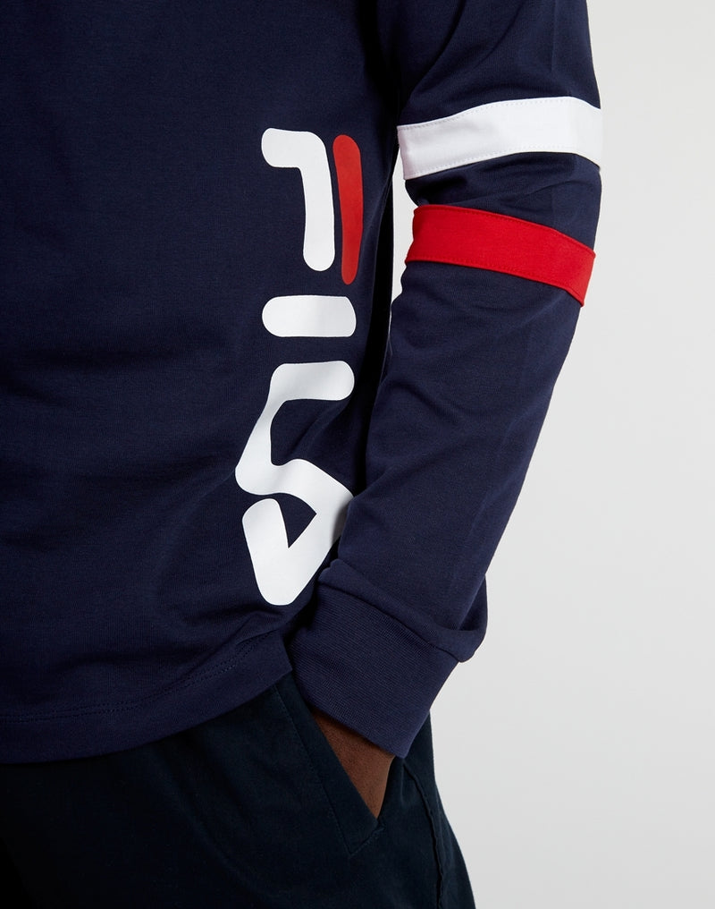Fila - Daniel Long Sleeve Tee Navy