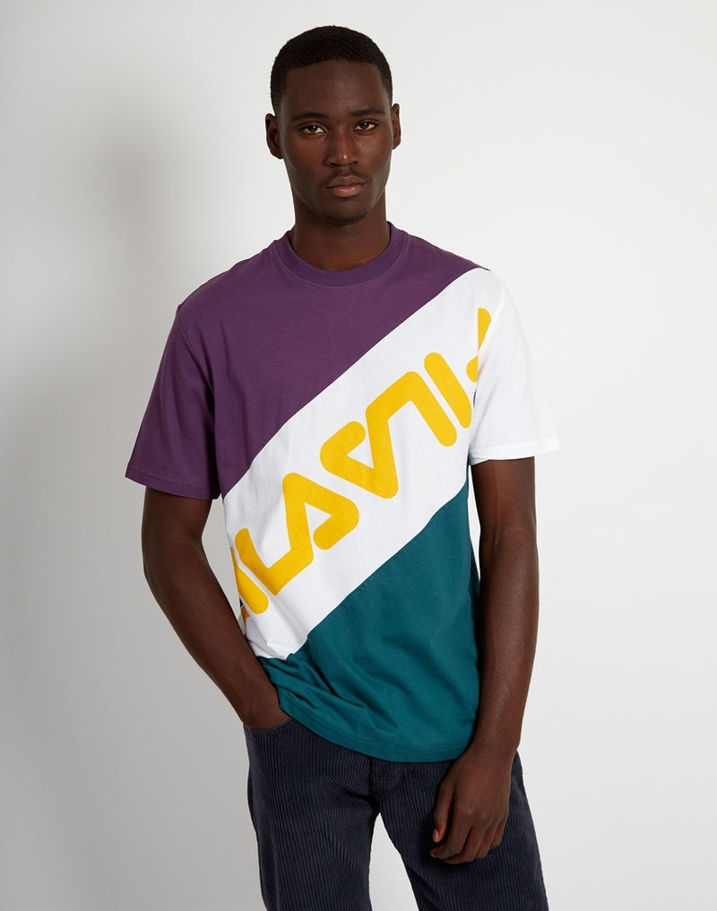 Fila - Rowan Striped Tee Purple