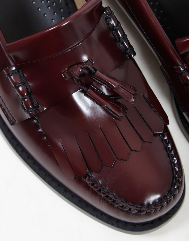 G.H Bass & Co. - Weejun Layton II Moc Kiltie Loafer Burgundy
