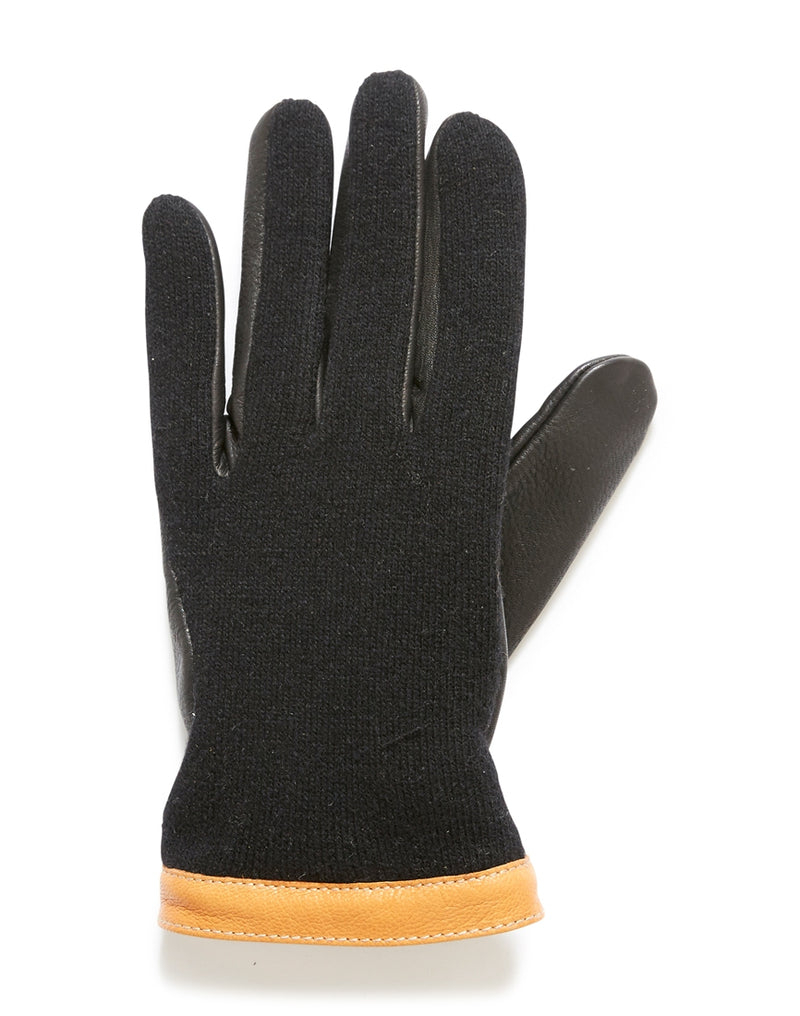 Hestra - Deerskin Wool Tricot Gloves Black