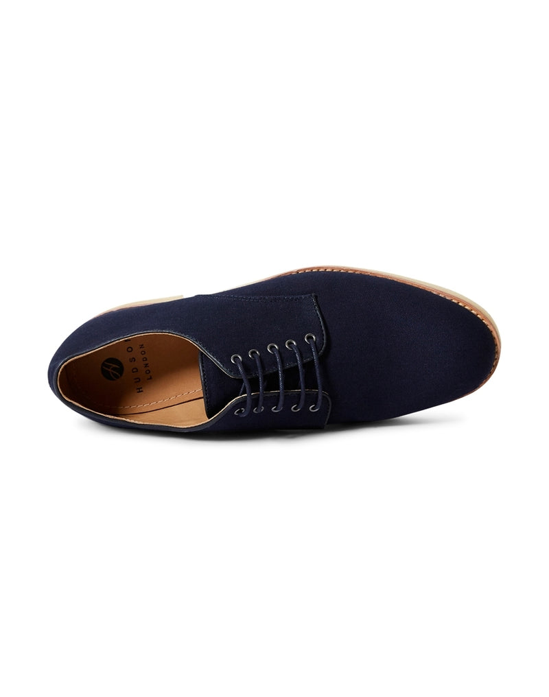 Hudson - Basford Canvas Lace Up Shoes Navy