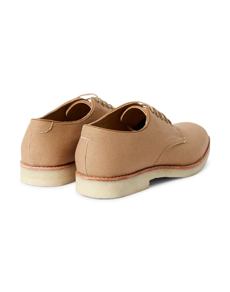 Hudson - Basford Canvas Lace Up Shoes Sand