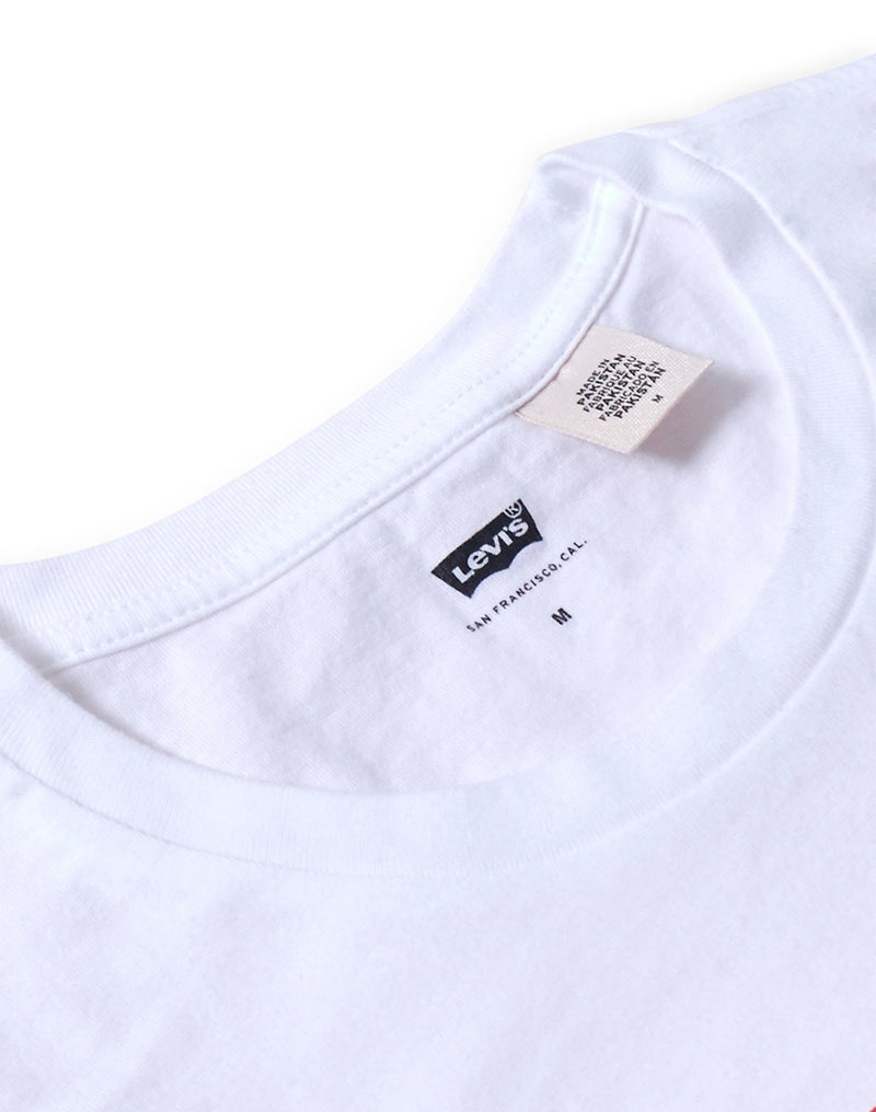 Levi's - Set-In Neck T-Shirt White