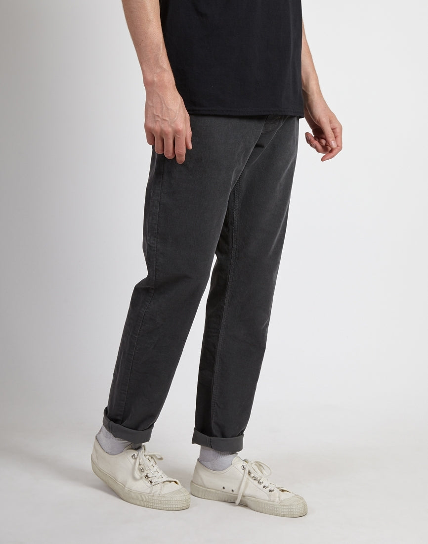 Black//Navy//Charcoal Lois Cords Lois Sierra Straight Fit Needle Cord Trouser