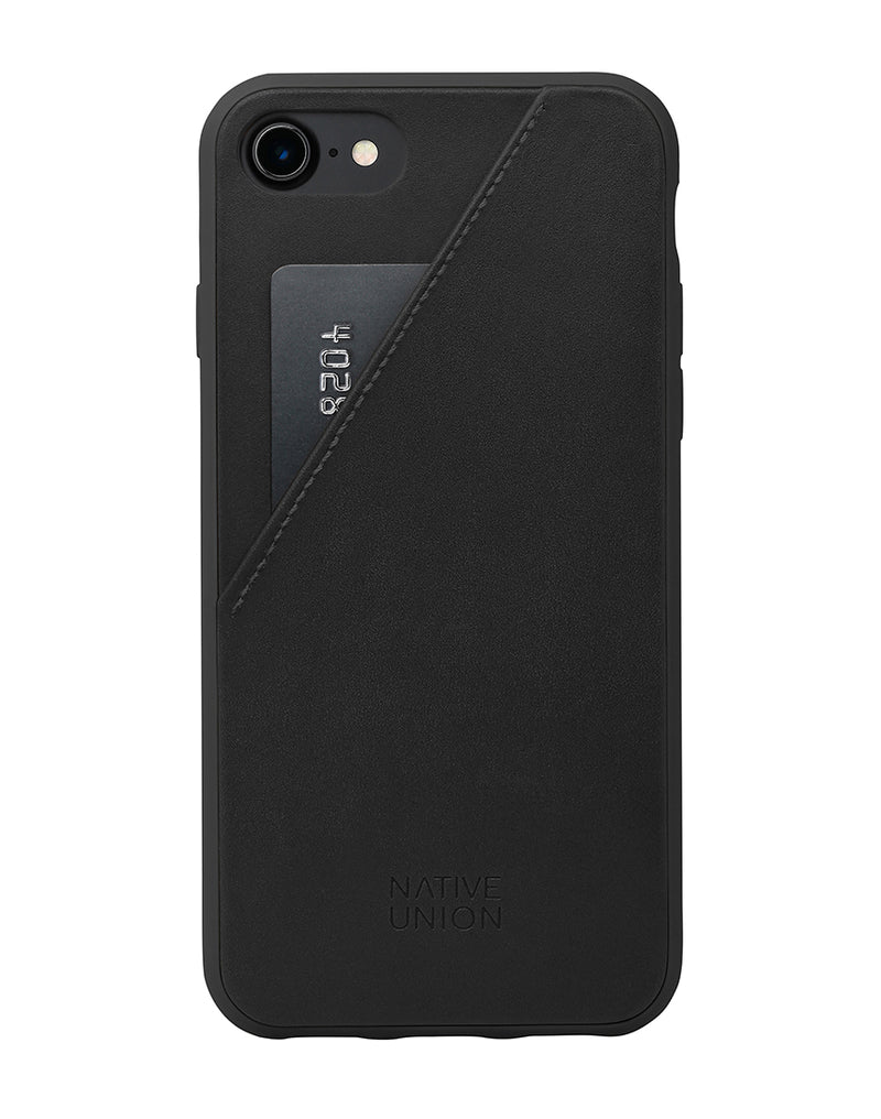 Native Union - Clic Card iPhone 7 Case Black
