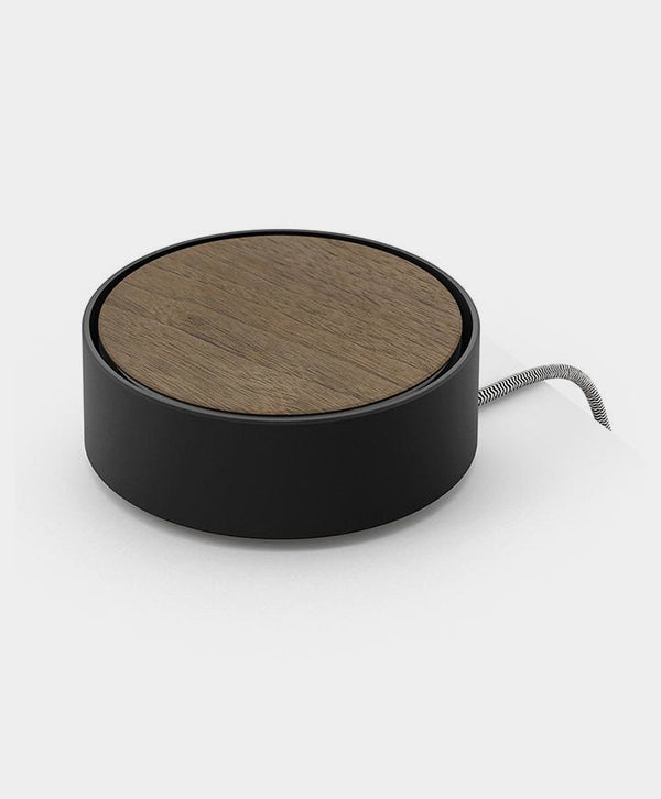Native Union - Eclipse Wooden Charger Black