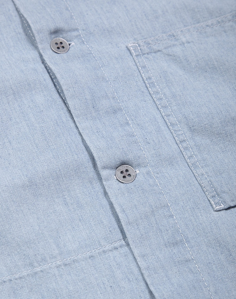 Nudie Jeans Co - Svante Shirt Light Blue