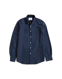 Portuguese Flannel - Belavista Long Sleeve Shirt Blue