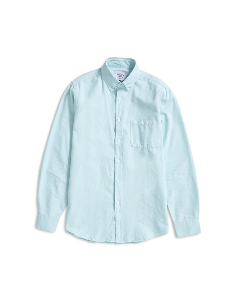Portuguese Flannel - Belavista Long Sleeve Shirt Light Blue