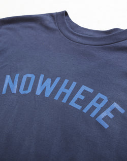The Idle Man - Nowhere T-Shirt Navy
