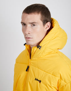 Schott NYC - Alaska Hooded Jacket Yellow/White/Blue
