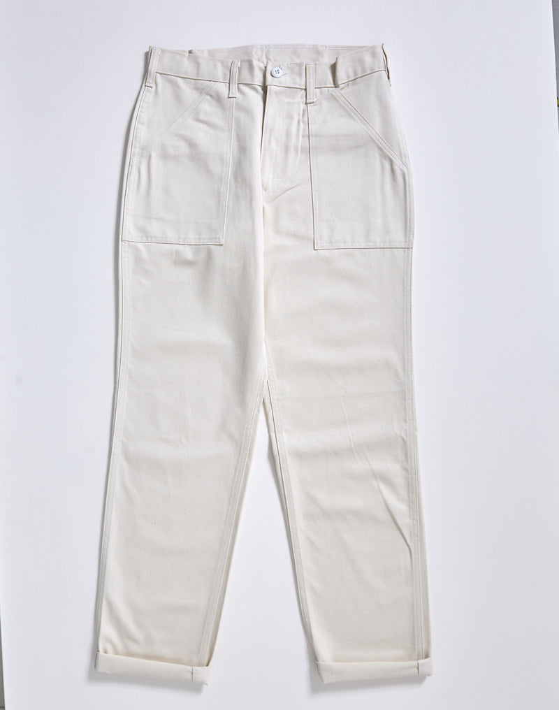 Stan Ray - 1200 Series Taper Fit 4 Pocket Fatigue Trousers Beige