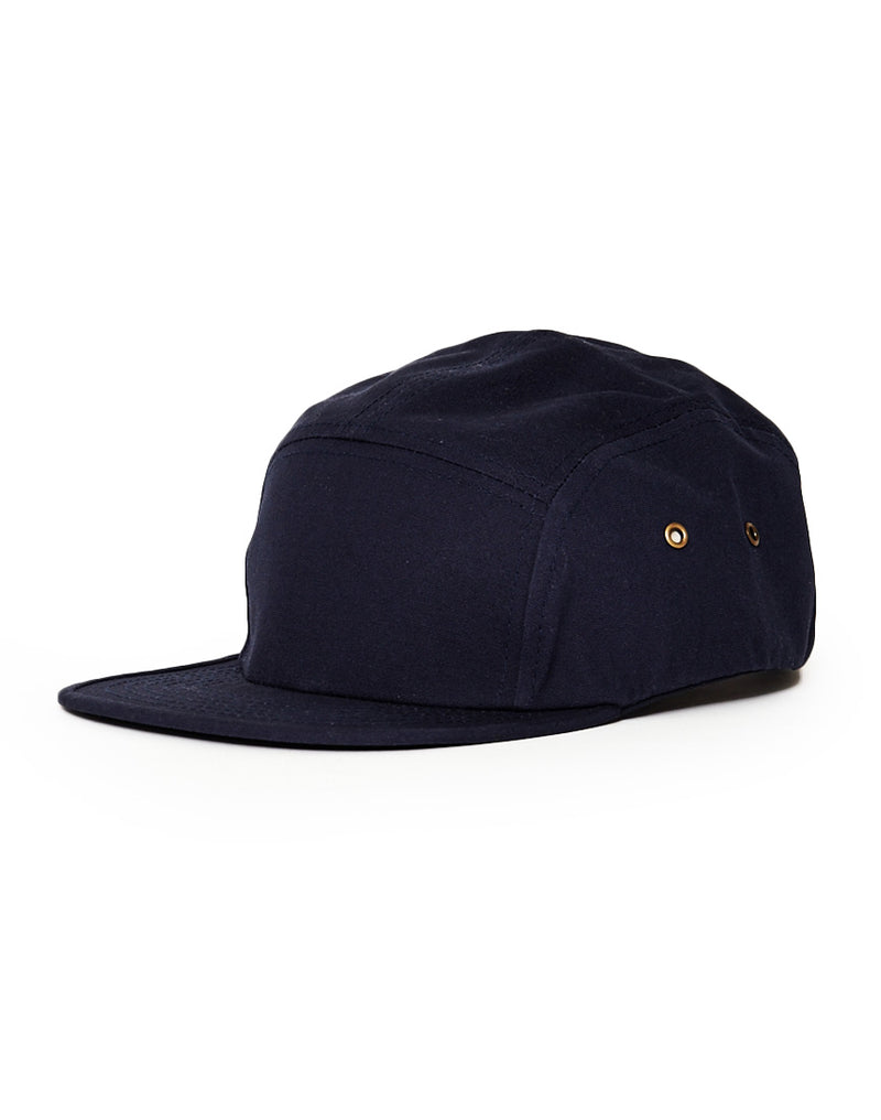The Idle Man - 5 Panel Cap Navy