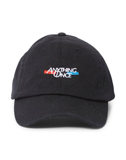 The Idle Man - Anything Once Embroidered Cap Black
