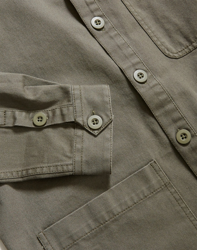 The Idle Man - Chore Jacket Khaki